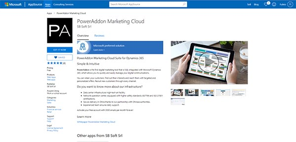 Microsoft chooses PowerAddon Marketing Cloud as Preferred Solution